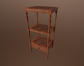 Antique table -PBR Game Ready model VR / AR ready