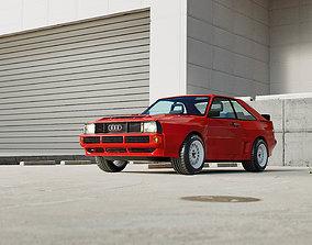Audi Quattro SWB 3D Model