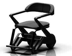 Wheelchair - Derive Chair 3D