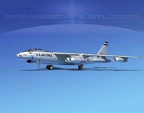 Boeing B-47B Stratojet V03 3D