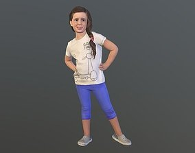 3D No95 - Girl Standing