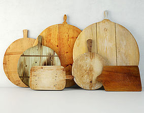 3D model Antique Cutting Boards