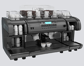 high detail 3d model La Cimbali coffee maker