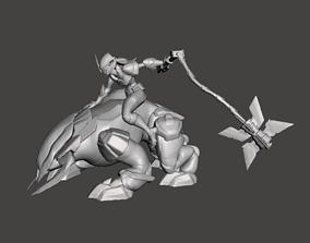 Project Sejuani 3D Model