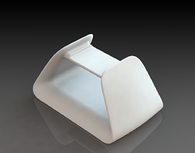 Futuristic Smartphone Pedestal 3D Printed