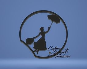 Mary Poppins 3D Mouse Ear