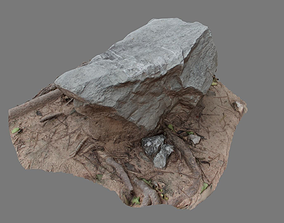 3D model Boulder photo scanned 02