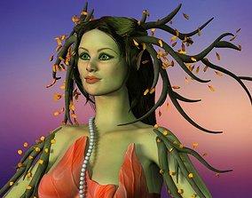 fantasy 3D model dryad