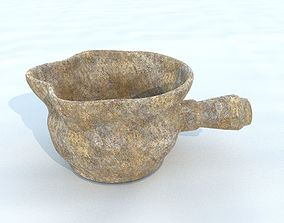 3D asset Pot antique 3