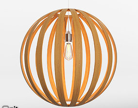 Bentwood Pendat Round by West Elm 3D model