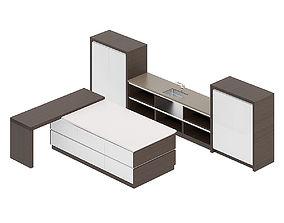3D model Kitchen Furniture Set 14
