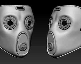 Borderlands 2 Krieg Alternative Mask 3D printable model