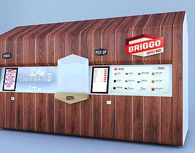 3D Briggo Coffee Machine