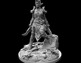 3D printable model Elf Warrior figure