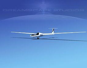 3D model Glaser Dirks DG200 15Mtr Sailplane V08