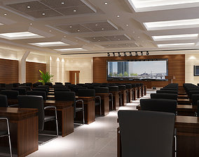 Multimedia Conference Hall 3D model