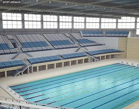 3D asset Swimming Pool