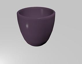 3D printable model Jar low-poly