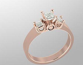 love Engagement ring 3D print model