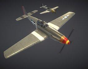 3D model North American P-51 Mustang