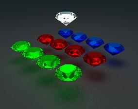 Some Gems 3D model