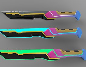 Dagger 3D model military