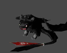 3D model realtime Toothless