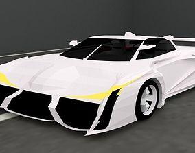 Hypercar FX16 3D model