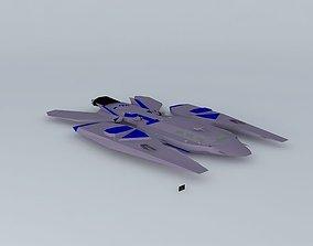 Y401D Vampire Mogders destroyer class 3D model