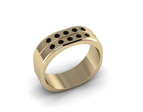 Men Jewerly Ring 011 3D print model