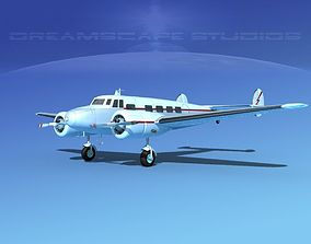 3D model Lockheed L10 Electra Private 3