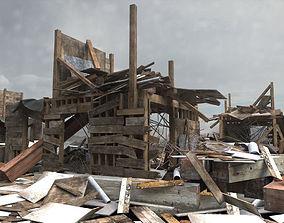 3D Building Debris