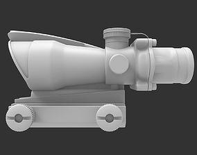 Scope 02 - High poly 3D model