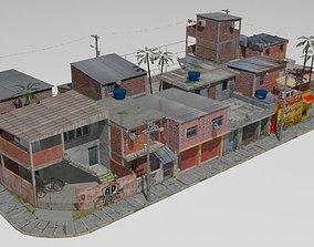 3D favela street