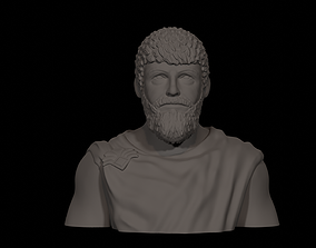 3D printable model Herodotus Assassins Creed Standard Bust