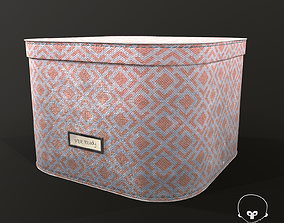 3D asset Designer Storage Box - used item