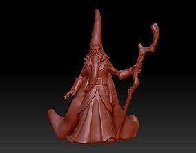 figurine 3D printable model Old Wizard