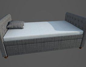 adobe-challenge-pbr-interior-design Bed 3D Model