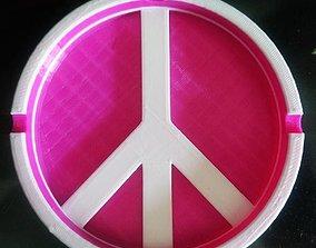 3D print model Ashtray Peace