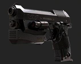 GUN 1005 - Pistol 3D model