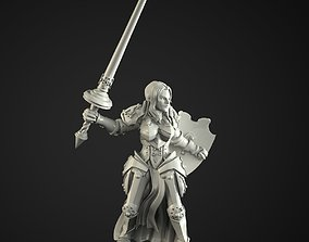 3D print model paladin girl