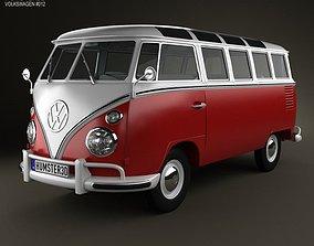 Volkswagen Transporter T1 1950 3D