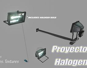 Halogen Projector 3D model