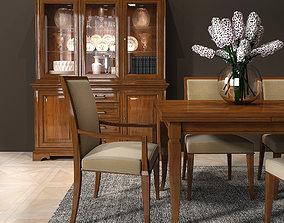 3D model Selva Dining room set 01