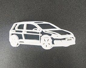 3D printable model Golf volskswagen