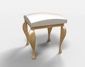 3D Rustic Furniture Banqueta Santana