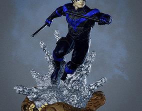 3D print model Nightwing Statue