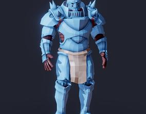 Fullmetal Alchemist Alphonse Elric Magic Armor 3D model