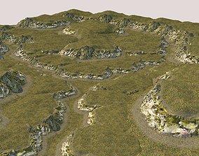 3D asset Rock 01