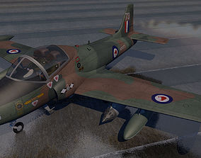 3D model BAC 167 Strikemaster Mk-88